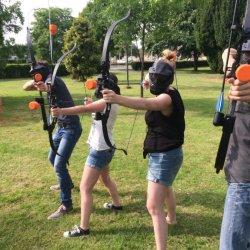 Outdoor Archery Tag activiteit
