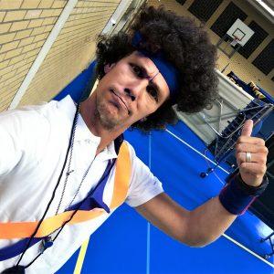 Oldskool Gymles Huren Groepsuitje