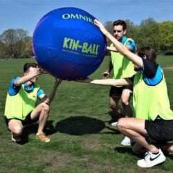 Kinball activiteit Sportdag