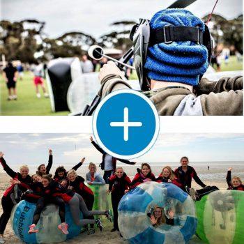 Arrangement Bubbleball en Archery Tag