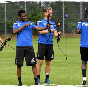 Teamuitje Club Brugge op onze locatie