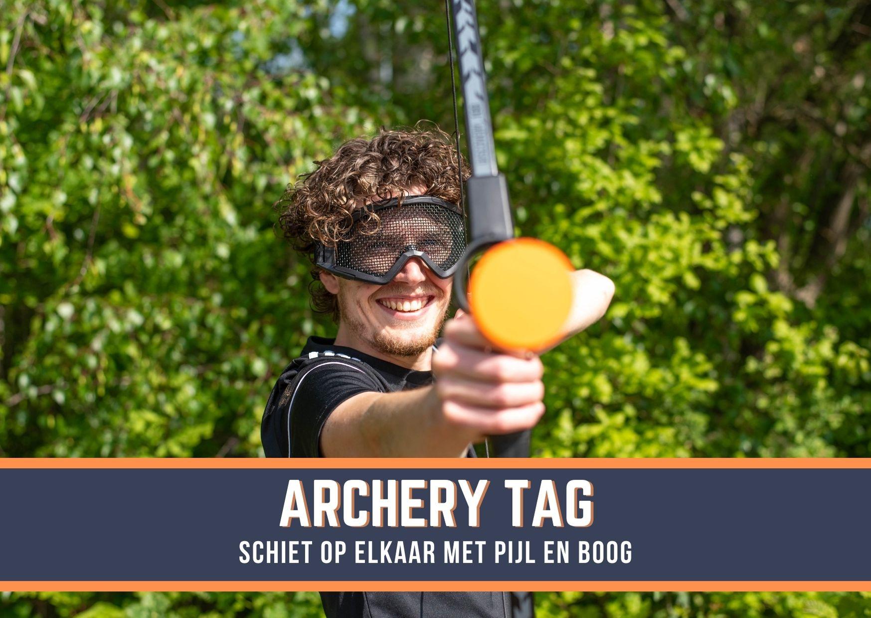 Archery Tag op locatie huren