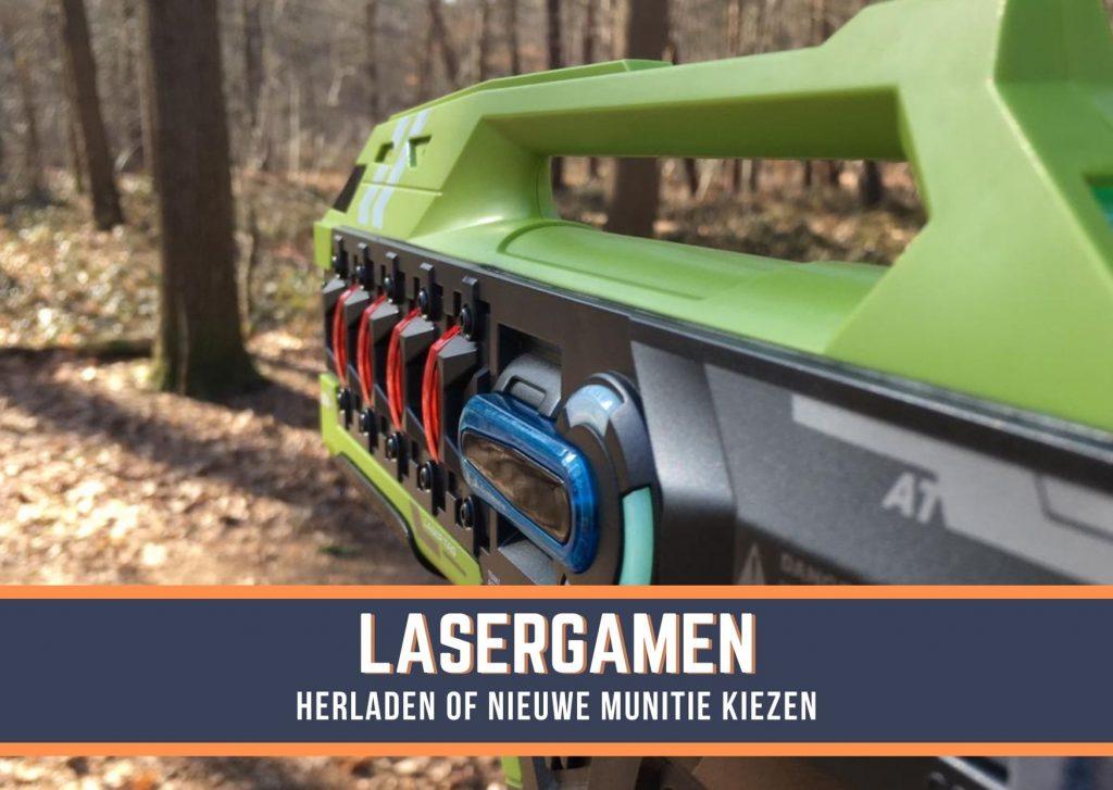 Lasergamen in het bos