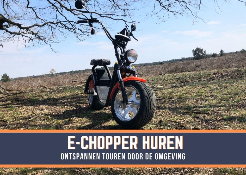 E-Chopper huren op locatie