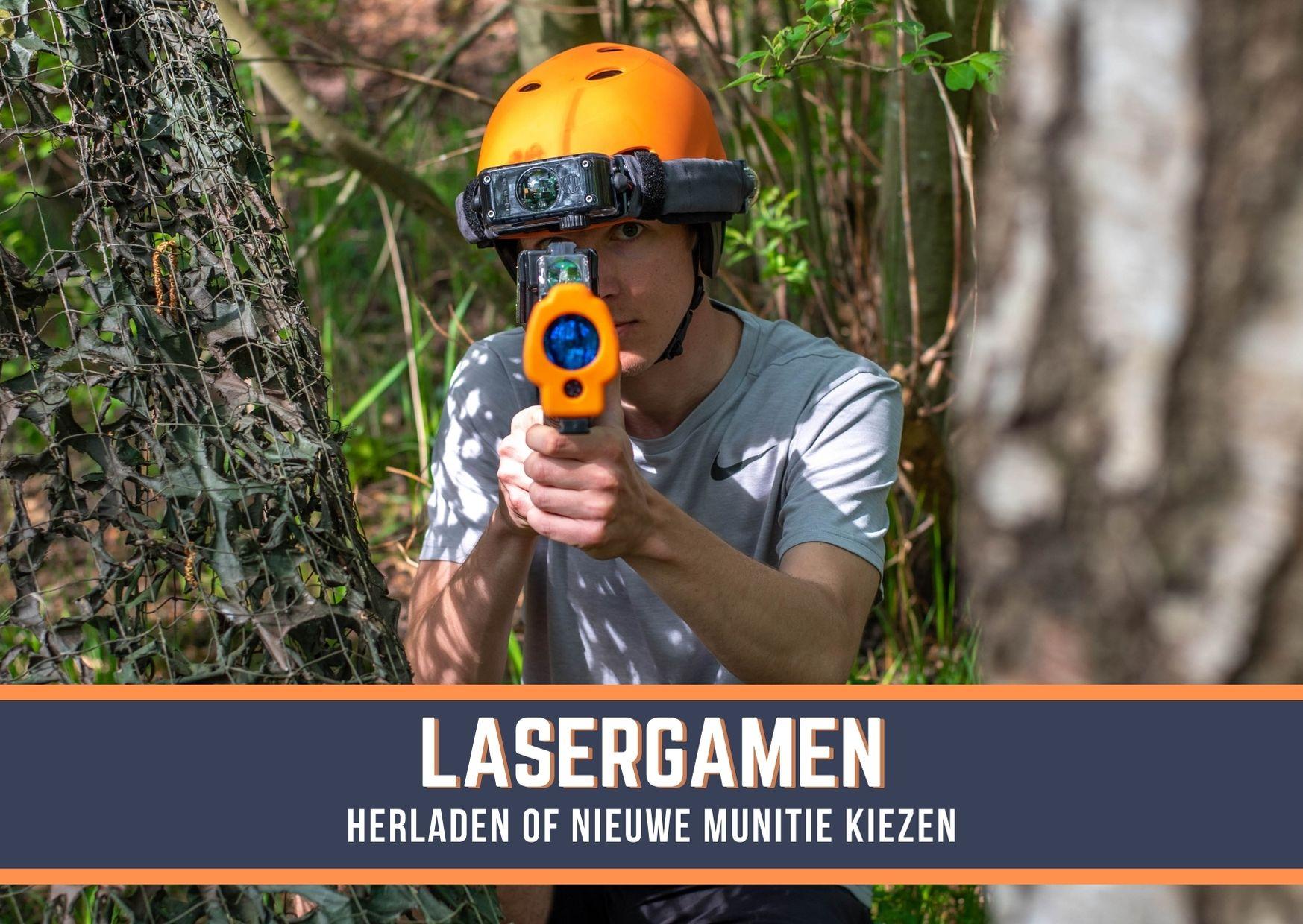 Outdoor Lasergamen Huren