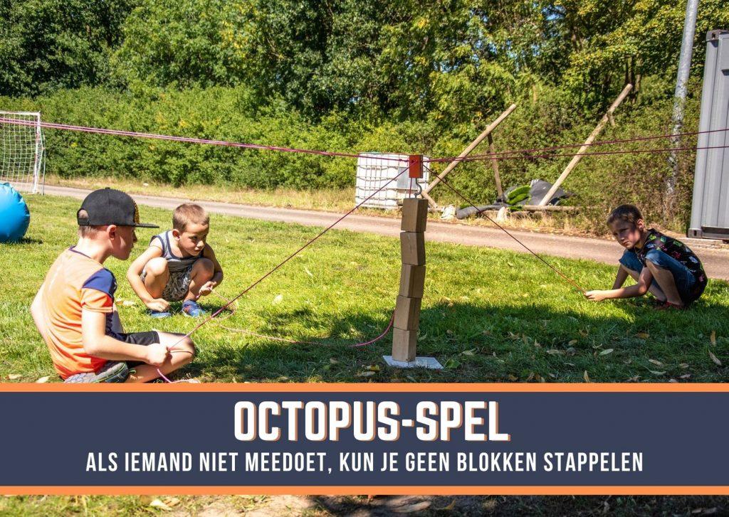 Octopus Spel Teamgames