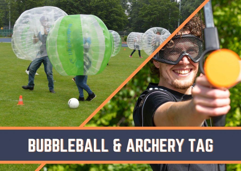 Teamuitje Archery Tag en Bubbleball